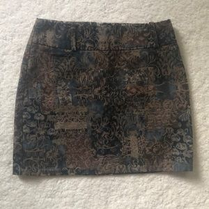 Terra Nostra printed mini skirt size 2